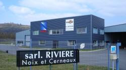 Facade bureaux Riviere noix et cerneaux des locaux de Vinay