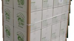 Palette Carton RIVIERE 12,5 kg cerneaux de noix entier Blancs