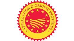 Logo appellation d'origine protégée noix de grenoble AOP